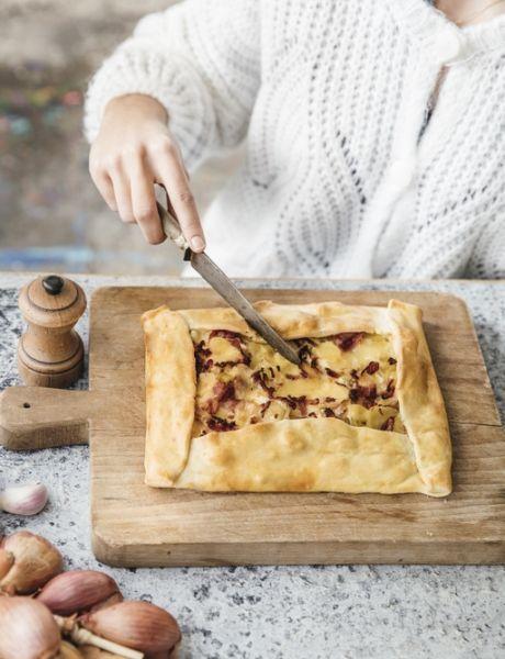 Empanadas de patata y queso comté Entremont