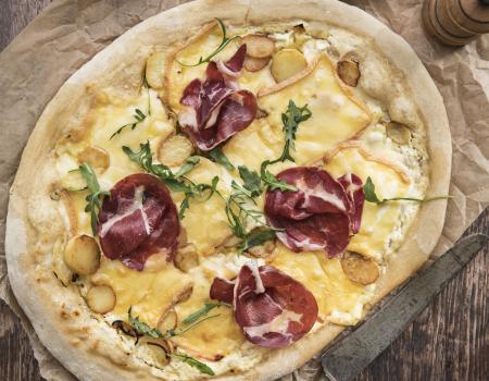 Pizza de raclette Entremont