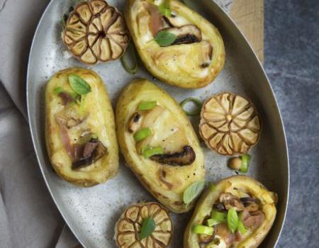 Patatas rellenas de queso raclette Entremont