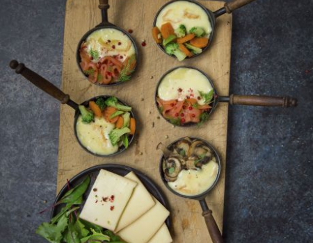 Recetas de queso Raclette Entremont revisitadas