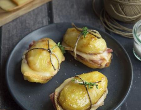 Sandwich de patatas y queso raclette Entremont